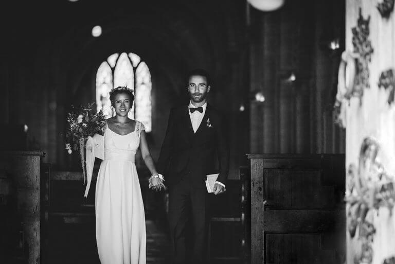 Mariage à la campagne en normandie